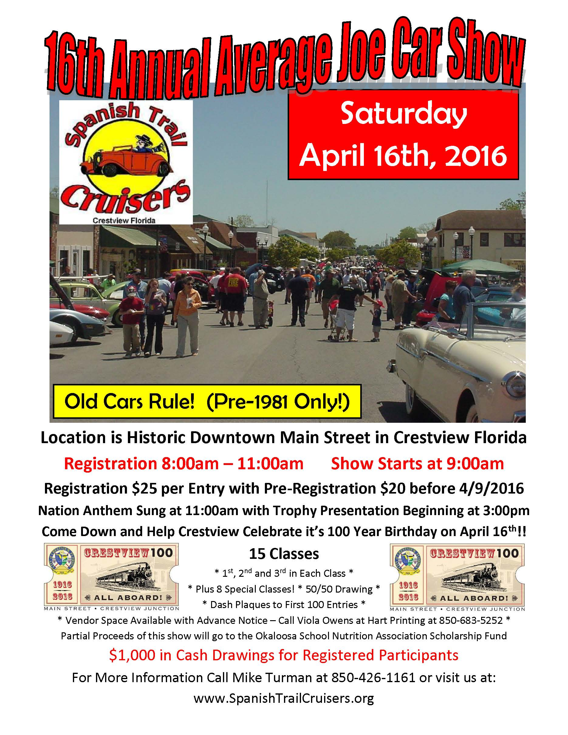 Cars By George Crestview Fl Carshowflyer Page